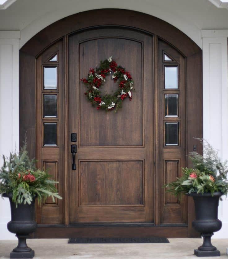 A fantastic front door