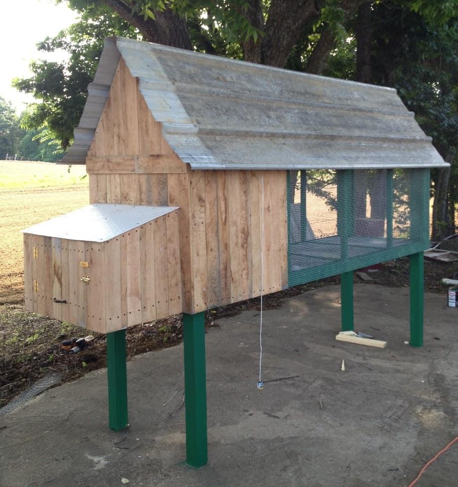 a solid henhouse