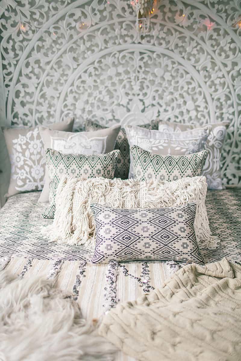 Add luxury cushions