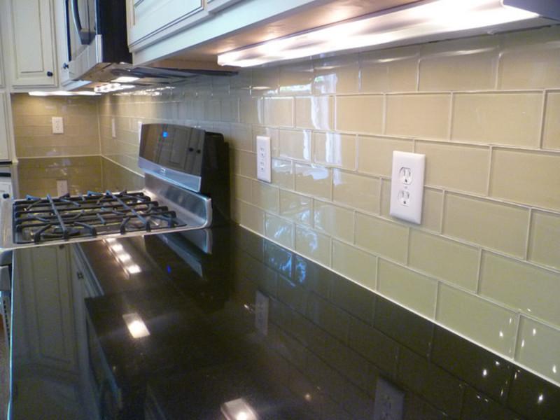 An idea for a glass kitchen