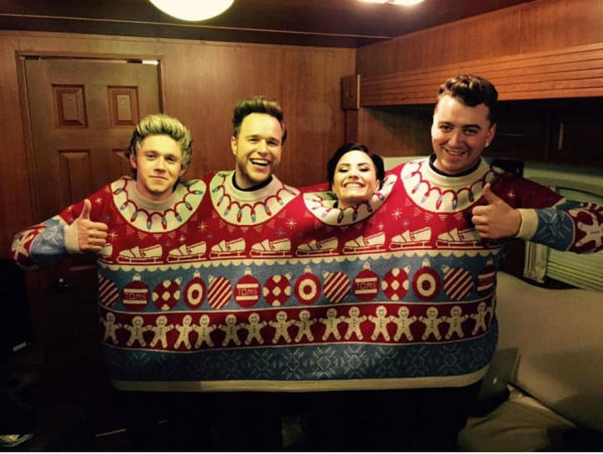 an ugly sweater for four