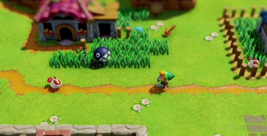 Awakening Zelda Link
