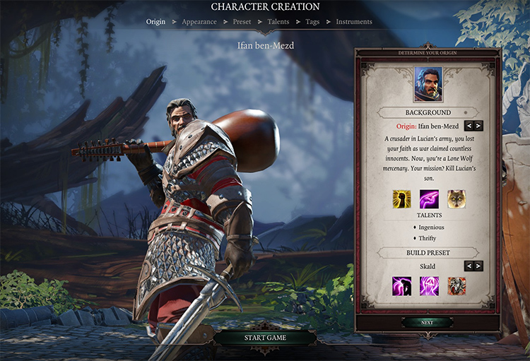 Bard and certificate classes - DOS2 Mod