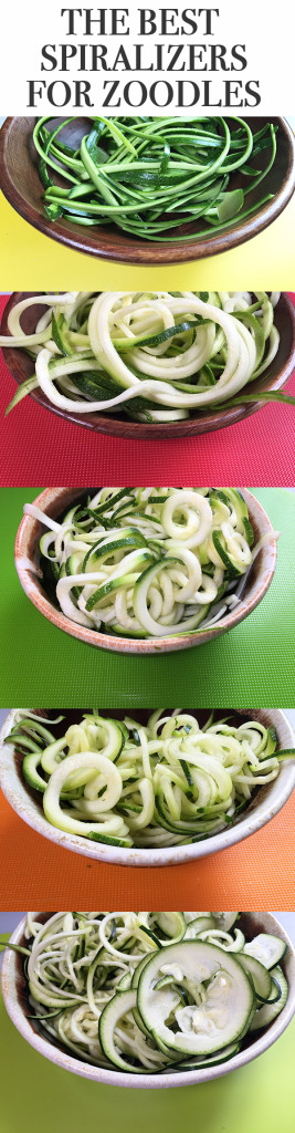 Results Are In: The Best Spiralizer for Zoodles is…