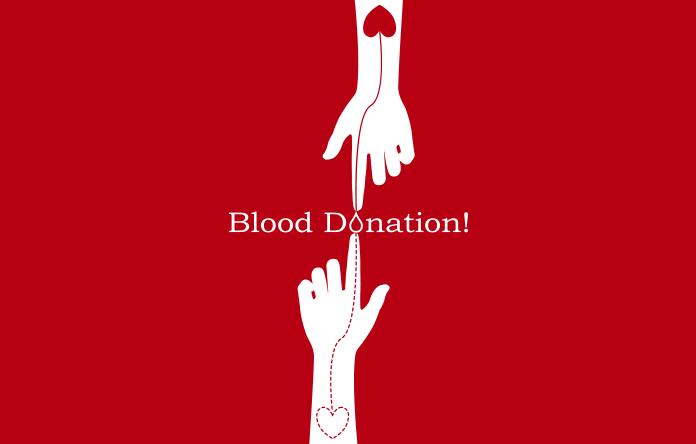 Blood donation test