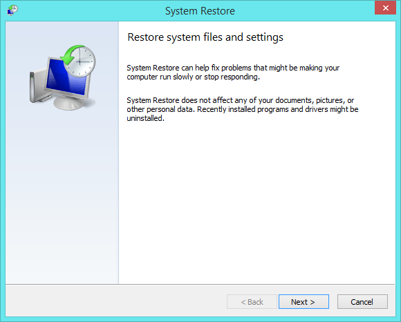 Booting in Minimum Safe Mode - System Restore - Windows Wally