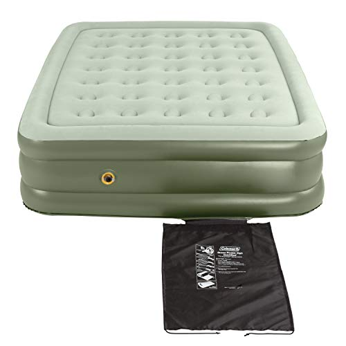 Coleman | Double High Support Air mattress inside or outside, Queen