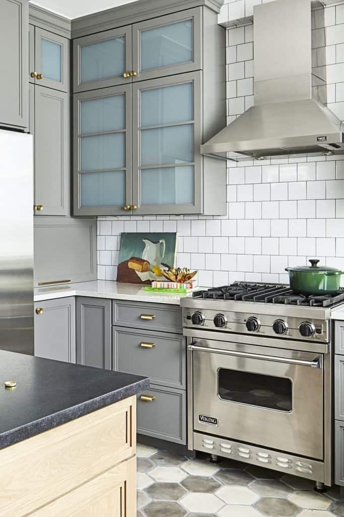 Deaf colour palette for the home kitchen (par. housebeautiful.com)