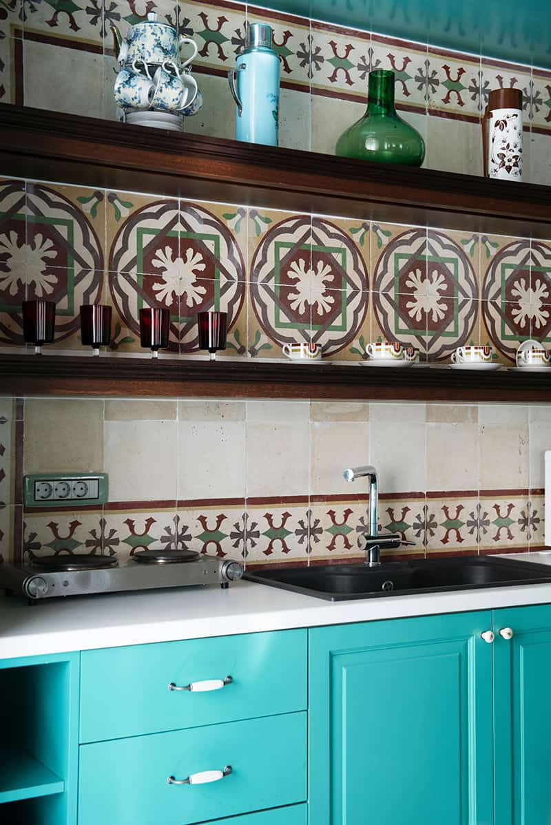 Decorate a cuisine in Moroccan style