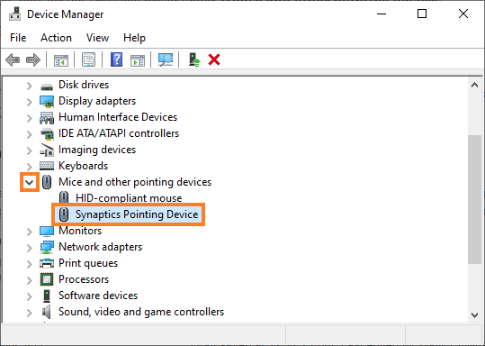 Device Manager - Removing the trackpad driver - 0 - Windows Wally