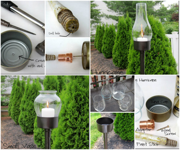 Do-it-yourself-to-tune-glass lantern
