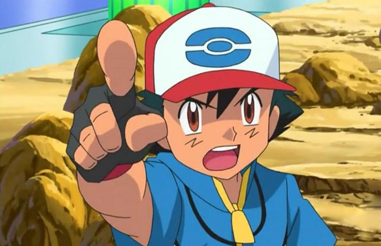 Эш Кетчум из Pokémon anime