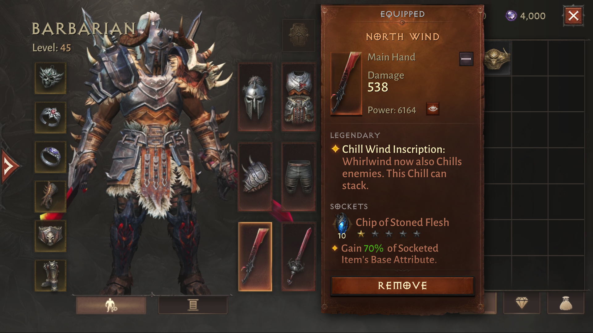 Diablo Immortal has slightly deeper or sometimes better itemisation than D4..or at least it is often more interesting. An example.