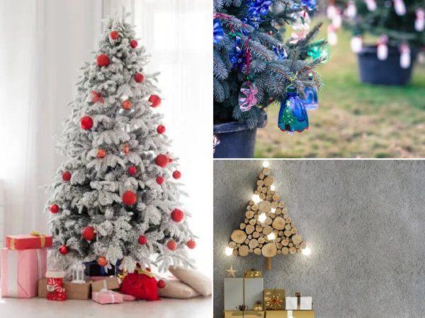Árboles de Navidad decorados 2020 2021 – ideas y fotos