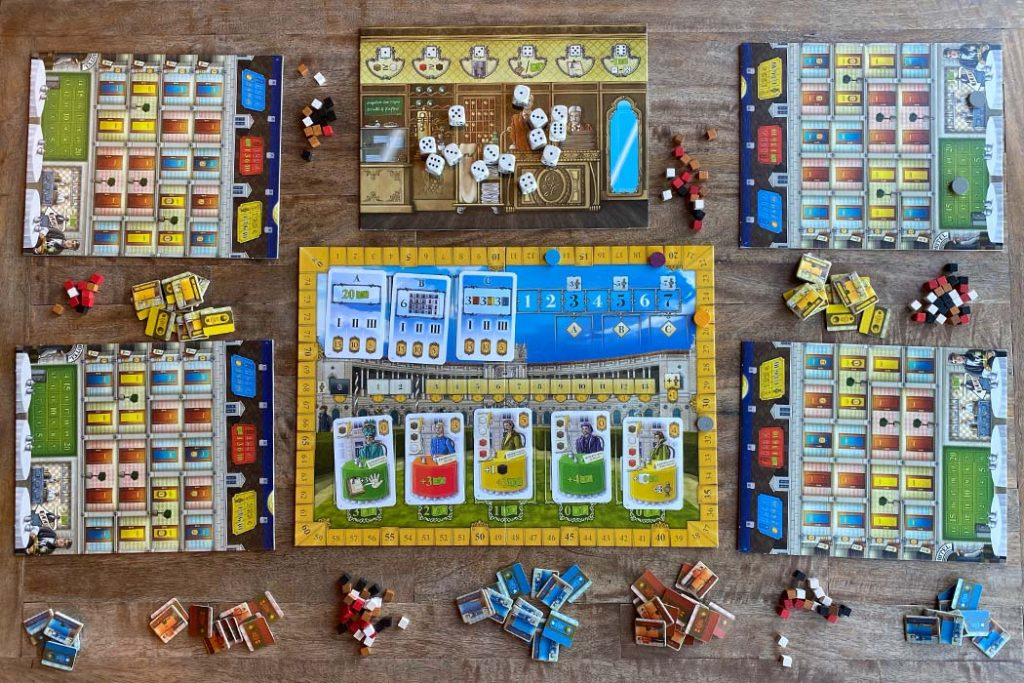 Grand Austria Hotel Board Game for 4 Players Board Game