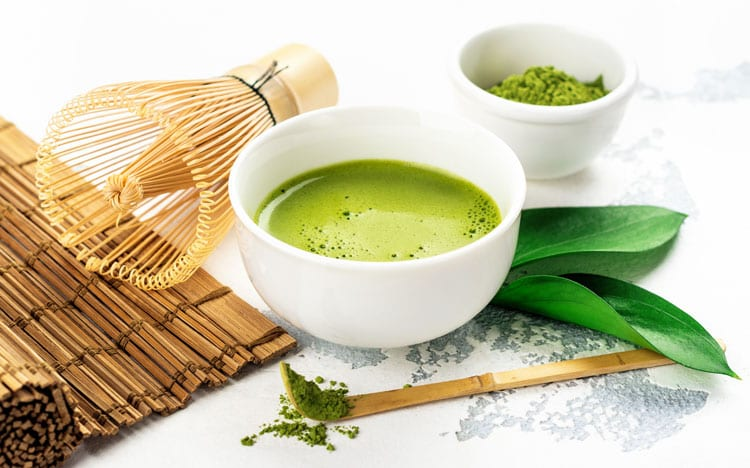 green tea powder competition