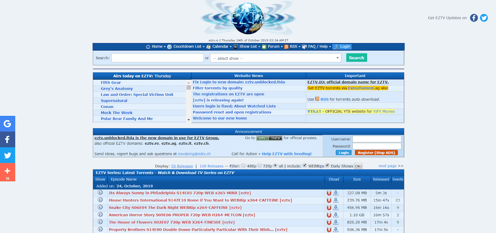 List Of RARBG Proxy Sites & RARBG Alternatives (Safe&Working) –