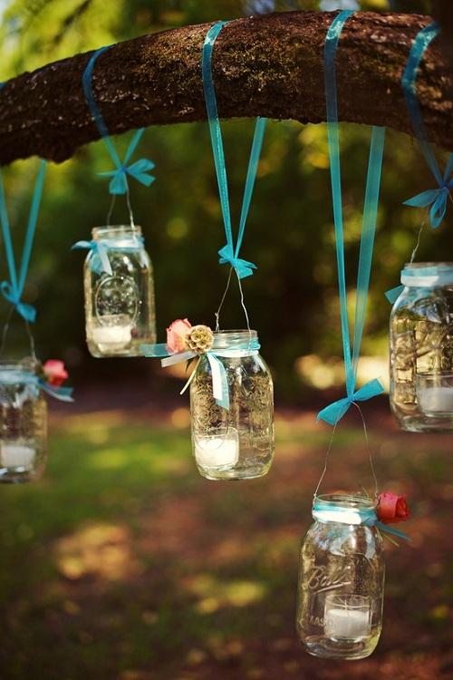 hanging tea lanterns pitcher