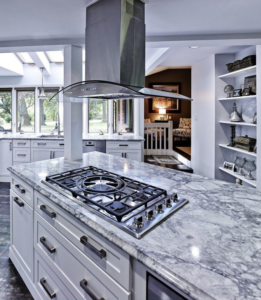 High-end luxury kitchen with high-end appliances