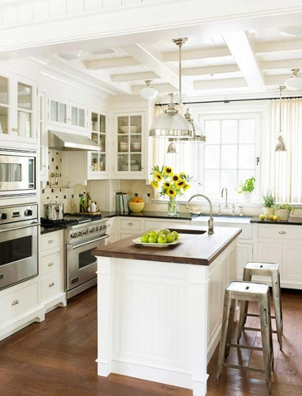 High-quality upholstery and details - perfect for small kitchen ideas