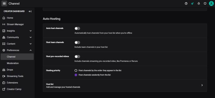 How to Host Another Channel on Twitch [Host Mode]