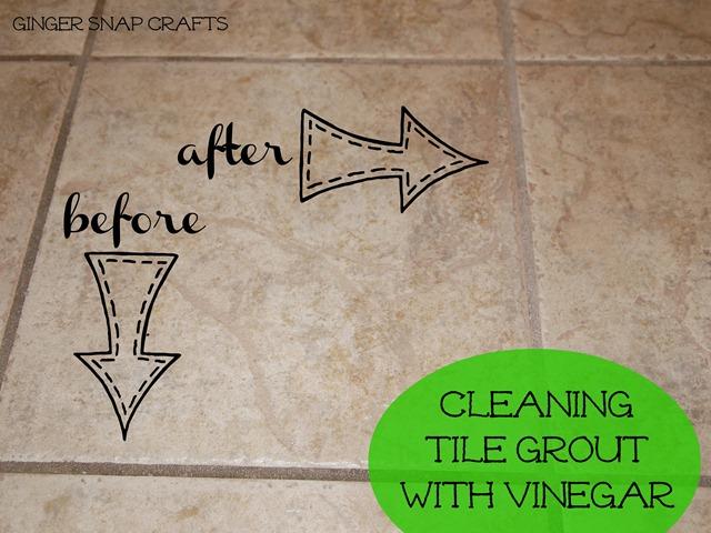 How do you clean tile mortar?