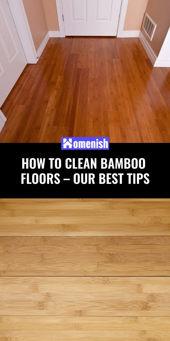 How to clean bamboo floors - our best advice
