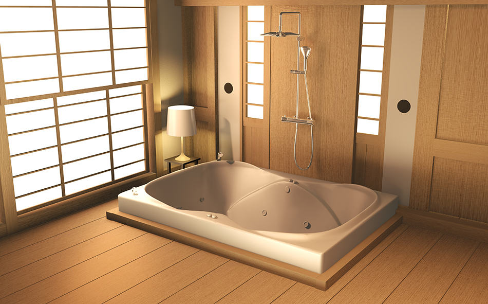 How to decorate your bathroom the Japanese way