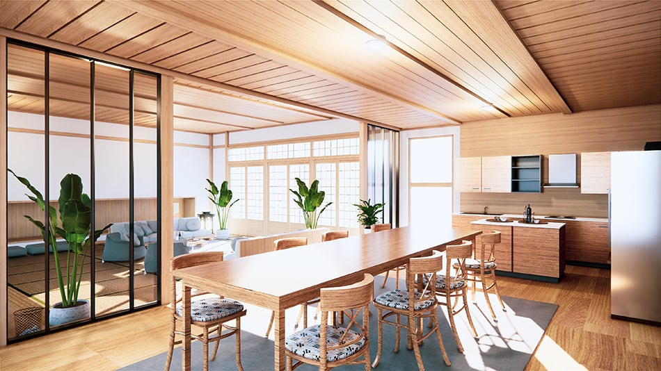 How to decorate your kitchen the Japanese way