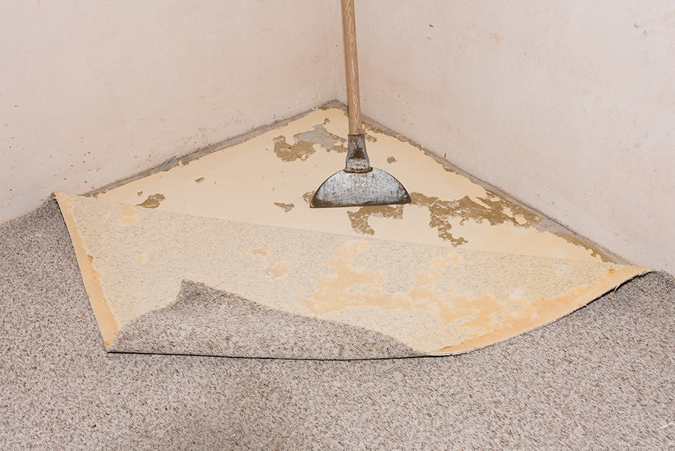 How to remove superglue from a carpet