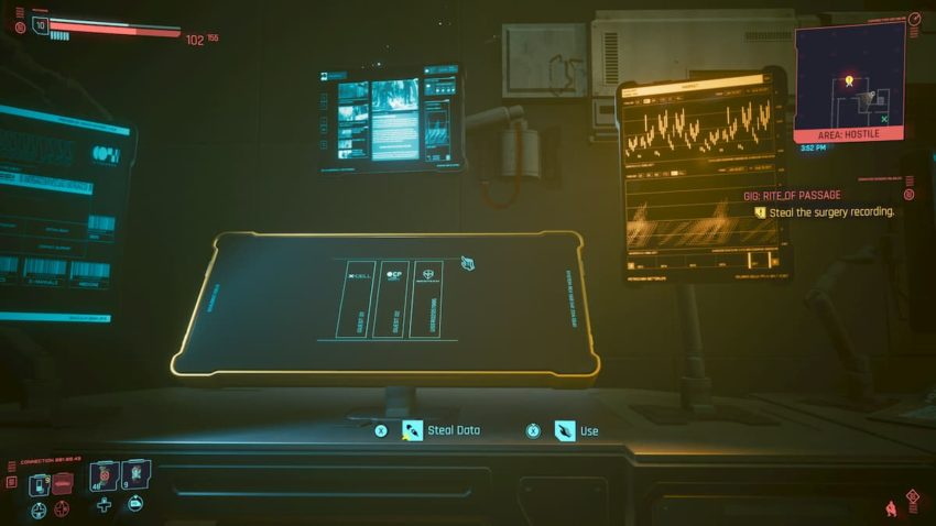 Rite of Passage gig – Cyberpunk 2077 – How to get into the Maelstrom Ripperdoc Clinic