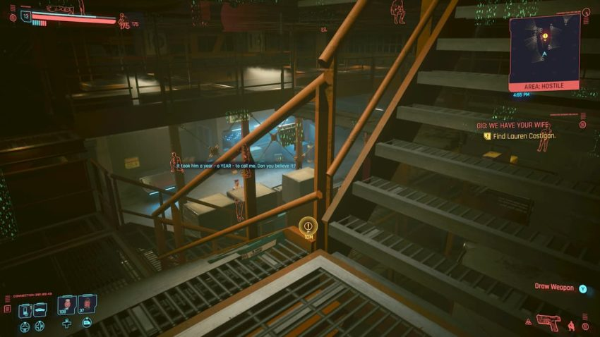 We Have Your Wife Gig – Cyberpunk 2077 – How to rescue Lauren Costigan from the Tyger Claws