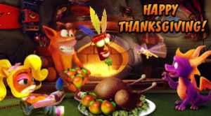 Happy ThanksGaming! err… Thanksgiving -2020