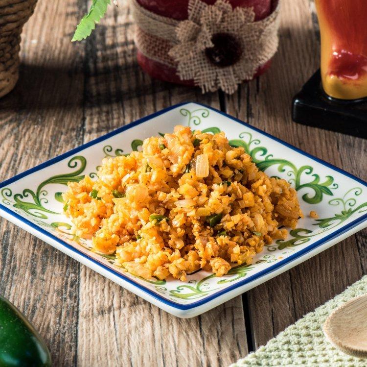 """Cauliflower """"Spanish Style"""" Rice"""