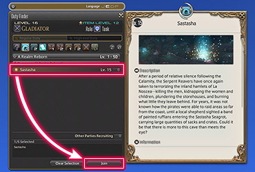 How to use the Duty Finder in Final Fantasy XIV