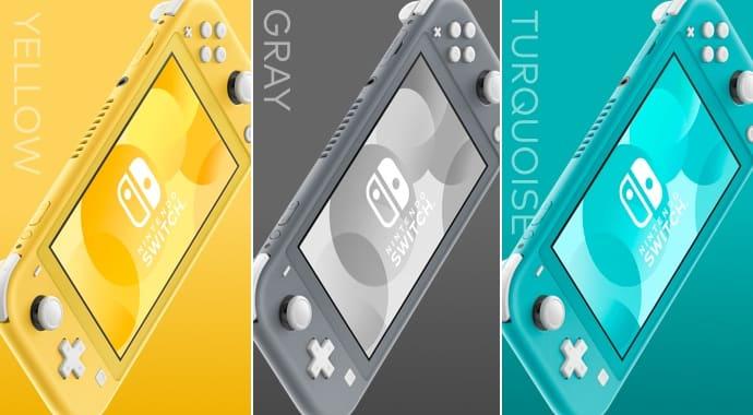 Nintendo Switch Lite Arrives On September 20 –