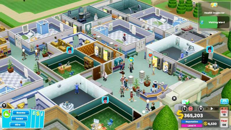 Two Point Hospital Review –
