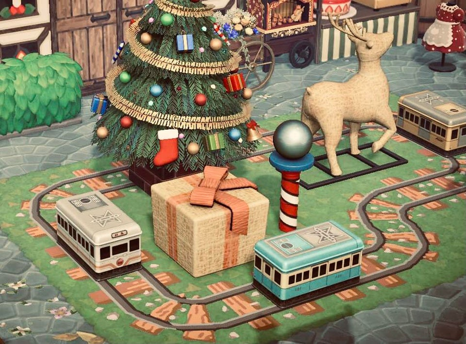 Get Inspired With These Animal Crossing New Horizons Christmas Markets