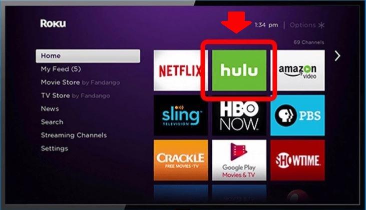 hulu app does not work on Samsung Smart TV