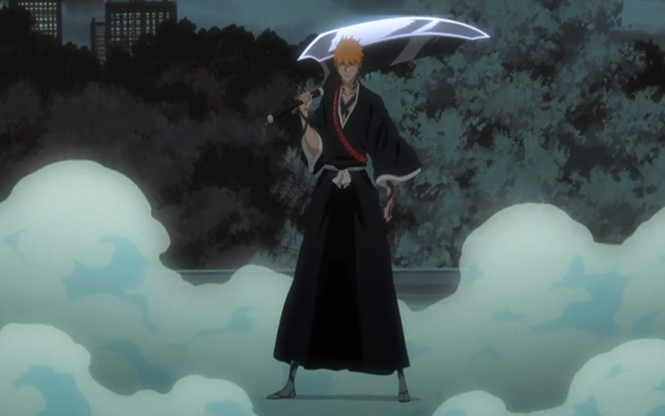 Ichigo Kurosaki of the anime Bleach