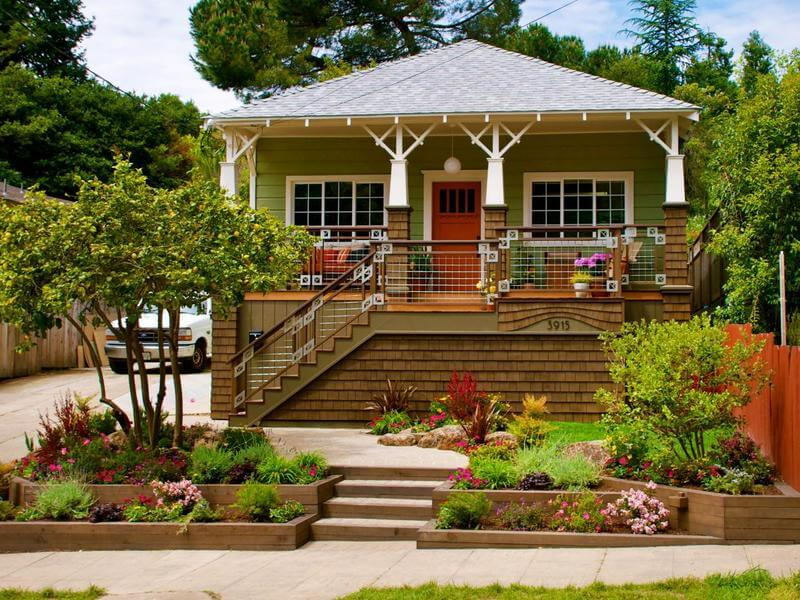 Ideas and advice for the front garden of the village
