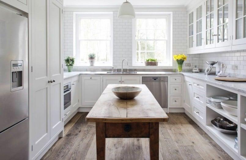 Idées pour la rénovation d'une petite cuisine pour form de U