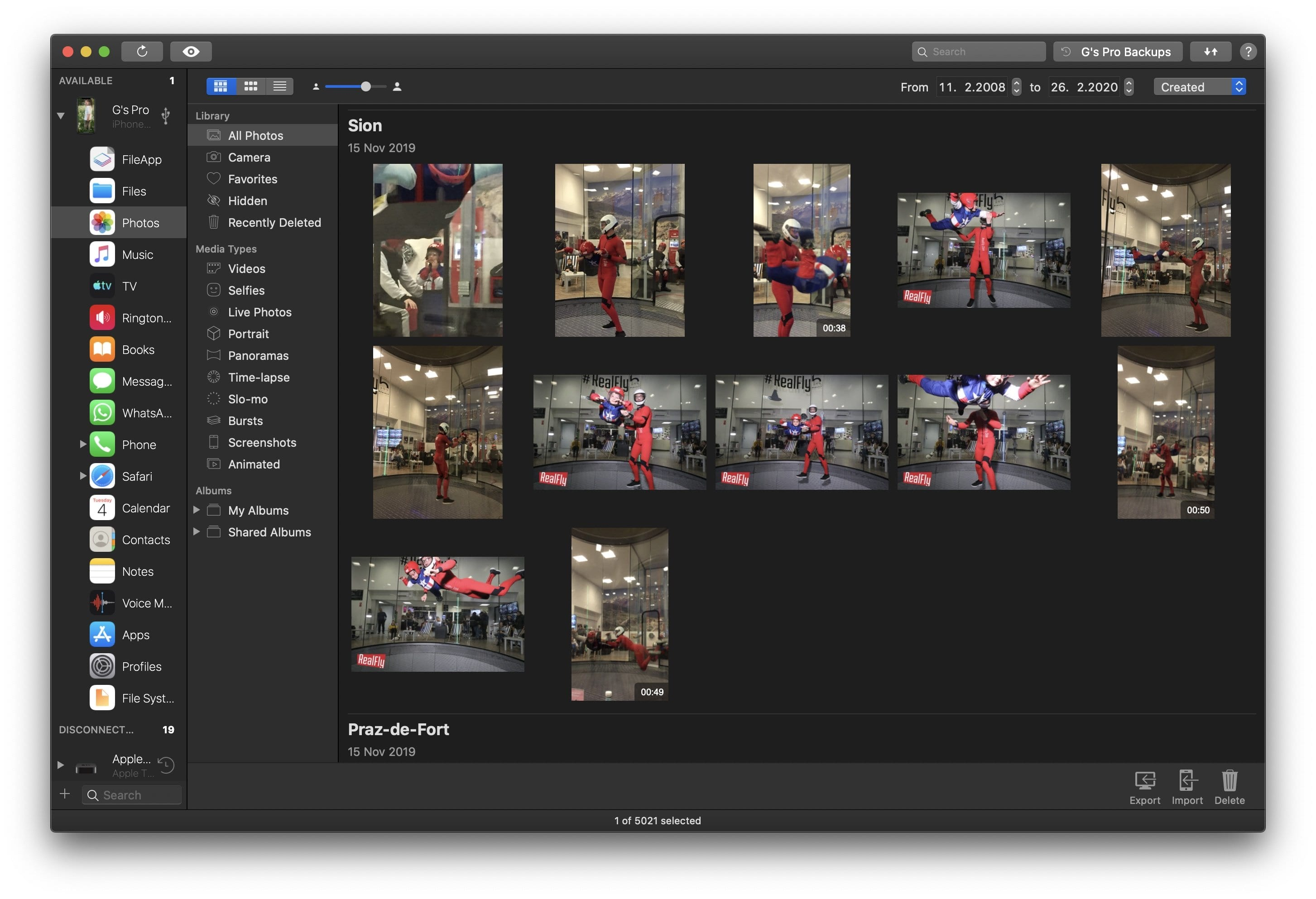 iMazing, the new photo manager for Mac