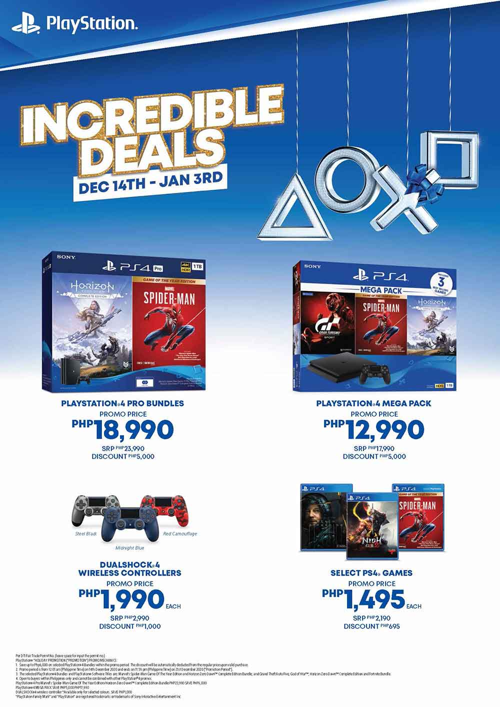 Get The PlayStation 4 at a Discounted Price During the Incredible Deals 2020