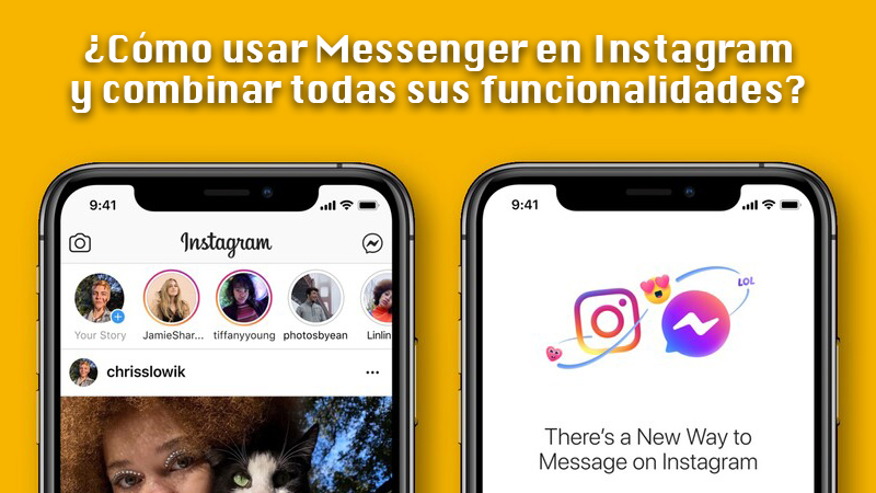 Learn step by step how to use Messenger on Instagram and combine all its functions.