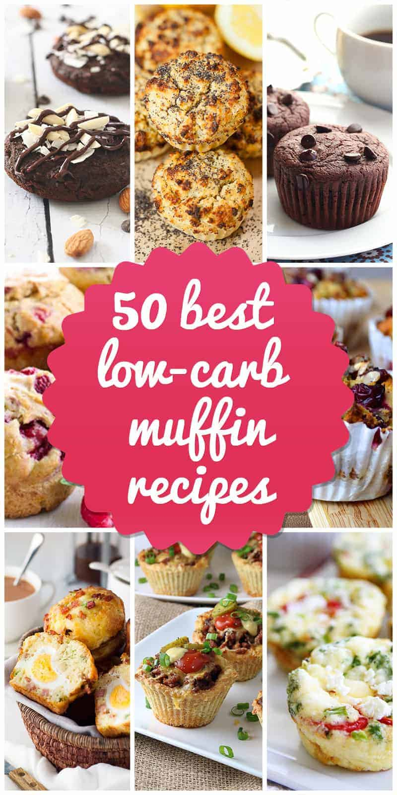 50 Best Low-Carb Muffin Recipes for 2018