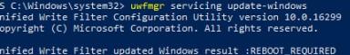 maintenance of yourfmgr update windows