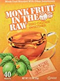mandatory ingredients - monk fruit pack of raw sweeteners