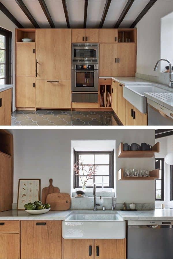 Modern Spanish Miniature Kitchen (par. remodelista.com)