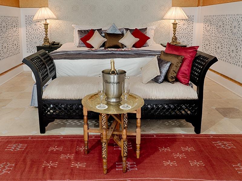 Moroccan bedroom furnishing